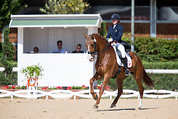 Berland Claire (FRA) - Amani<br /> European Championships Dressage Junior and Young Riders 2014<br /> © Hippo Foto - Leanjo de Koster