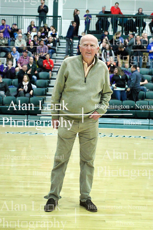 26 January 2019: Recognition of the IBCA Organization of they Year award during the McLean County Tournament at Shirk Center in Bloomington Illinois<br /> <br /> Dennis Bridges