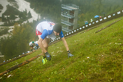Red Bull 400 Planica run on the flying hill in Planica nordic center, on 16th of September, 2017, in Nordic center Planica, Slovenia. Photo by Grega Valancic / Sportida