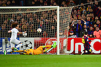 Goal Lionel MESSI - 10.12.2014 - Barcelone / Paris Saint Germain - Champions League<br />