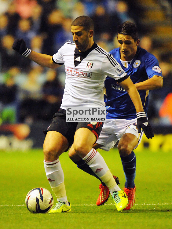 Adel Taarabt Fulham, Leicester City v Fulham, Capital One Cup, 29th October 2013