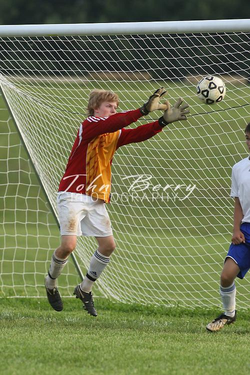 MCHS Varsity Boys Soccer .vs Strasburg .District Quarter Finals .5/15/2009