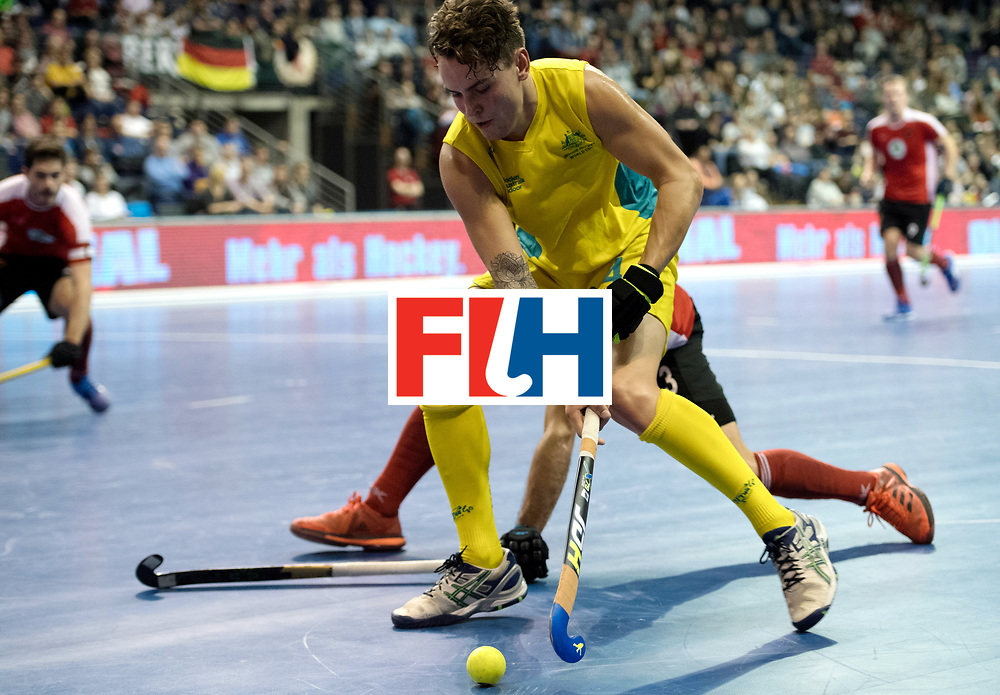 BERLIN - Indoor Hockey World Cup<br /> SF2 Australia - Austria<br /> foto: Jack Hayes   <br /> WORLDSPORTPICS COPYRIGHT FRANK UIJLENBROEK