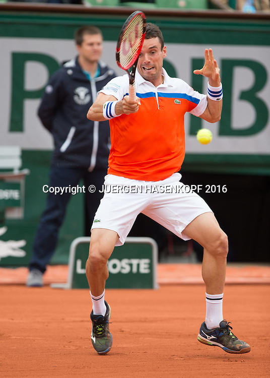 Roberto Bautista-Agut (ESP)<br /> <br /> Tennis - French Open 2016 - Grand Slam ITF / ATP / WTA -  Roland Garros - Paris -  - France  - 1 June 2016.