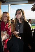 NATALIE PINKHAM; LADY NATASHA RUFUS ISAACS, Hennessy Gold Cup, The Racecourse Newbury. 30 November 2013.