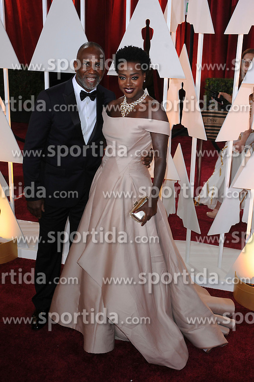 22.02.2015, Dolby Theatre, Hollywood, USA, Oscar 2015, 87. Verleihung der Academy of Motion Picture Arts and Sciences, im Bild Viola Davis // attends 87th Annual Academy Awards at the Dolby Theatre in Hollywood, United States on 2015/02/22. EXPA Pictures &copy; 2015, PhotoCredit: EXPA/ Newspix/ PGMP<br /> <br /> *****ATTENTION - for AUT, SLO, CRO, SRB, BIH, MAZ, TUR, SUI, SWE only*****