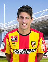 Pablo CHAVARRIA - 30.10.2015 - Portrait Officiel - Lens<br /> Photo : RC Lens / Icon Sport