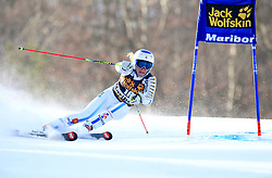 21.02.2015, Pohorje, Maribor, SLO, FIS Weltcup Ski Alpin, Maribor, Riesenslalom, Damen, 1. Lauf, im Bild Frida Hansdotter (SWE) // Frida Hansdotter of Sweden during the 1st run of ladie's Giant Slalom of the Maribor FIS Ski Alpine World Cup at the Pohorje in Maribor, Slovenia on 2015/02/21. EXPA Pictures © 2015, PhotoCredit: EXPA/ Erwin Scheriau