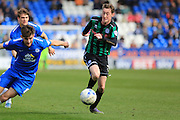 Joe Bunney during the Sky Bet League 1 match between Peterborough United and Rochdale at London Road, Peterborough, England on 9 April 2016. Photo by Daniel Youngs.
