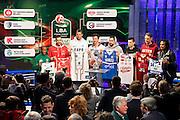 I capitani con la coppa, Presentazione POSTEMOBILE Final Eight 2017 - Rimini 16-19 fabbraio 2017 - studi RAI, Milano 23 gennaio 2017