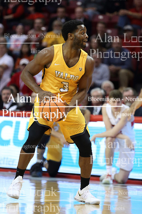 27 January 2018:  Max Joseph during a College mens basketball game between the Valparaiso Crusaders and Illinois State Redbirds in Redbird Arena, Normal IL