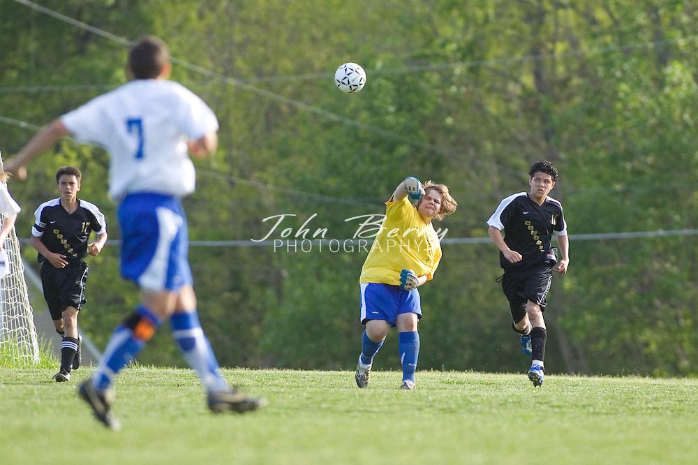 MCHS Varsity Girl's Soccer.vs Manassas Park.5/10/2007