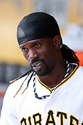 PITTSBURGH, PA - JULY 22: Andrew McCutchen #22 of the Pittsburgh Pirates looks on during the game against the Miami Marlins at PNC Park on July 22, 2012 in Pittsburgh, Pennsylvania. The Pirates won 3-0. (Photo by Joe Robbins) *** Local Caption *** Andrew McCutchen