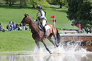 Kitty King riding Ceylor L A N during the International Horse Trials at Chatsworth, Bakewell, United Kingdom on 13 May 2018. Picture by George Franks.