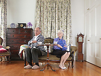 Senior Couple Having a Spat