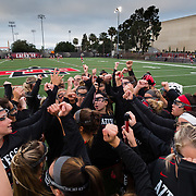 23 March 2018: The San Diego State women's lacrosse team hosts Liberty Friday night and came away with an 11-10 victory. <br /> More game action at sdsuaztecphotos.com