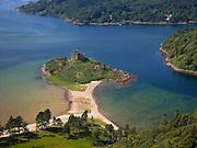 Castle Tioran, Loch Moidart, west Highlands