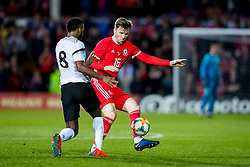 WREXHAM, WALES - Wednesday, March 20, 2019: Wales' Lee Evans during an international friendly match between Wales and Trinidad and Tobago at the Racecourse Ground. (Pic by Paul Greenwood/Propaganda)