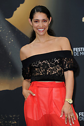 "Monte Carlo, 57th Festival of Television. Photocall ""Chicago Fire"" pictured: Miranda Rae Mayo"