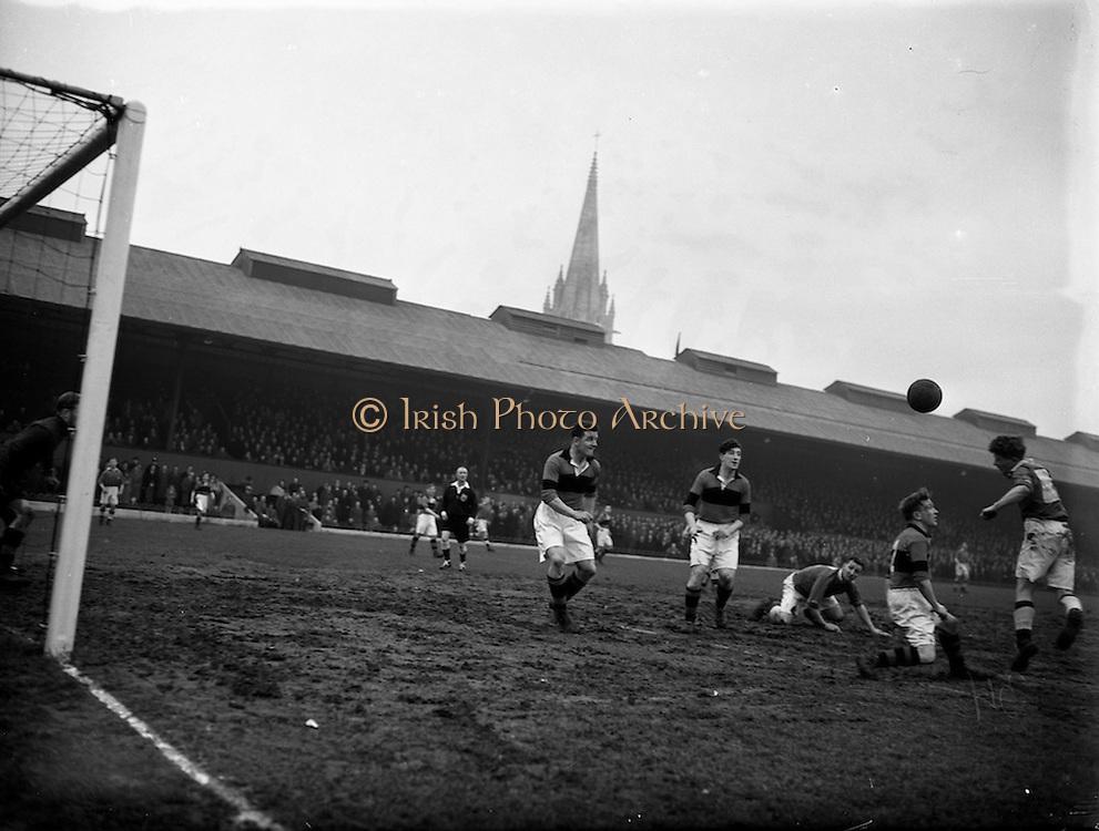 15/2/1953<br /> 2/15/1953<br /> 15 February 1953 <br /> Soccer: Bohemians F.C. v Limerick at Dalymount Park, Phibsborough, Dublin.