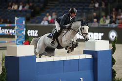 Hassmann Felix, (GER), SL Brazonado<br /> Prize of Raumpflege Jumping<br /> Stuttgart - German Masters 2015<br /> © Hippo Foto - Stefan Lafrentz