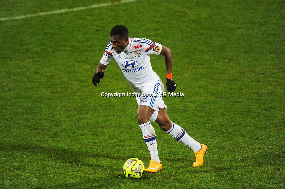 Henri BEDIMO  - 04.12.2014 - Lyon / Reims - 16eme journee de Ligue 1  <br /> Photo : Jean Paul Thomas / Icon Sport
