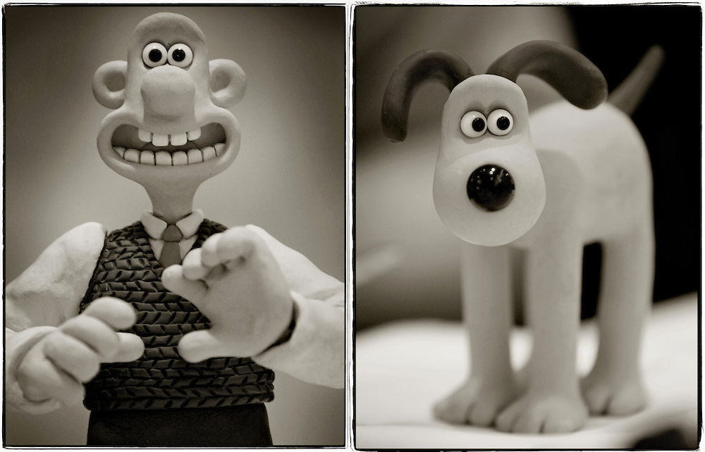 The real Wallace &amp; Gromit - Claymation Movie Stars<br />