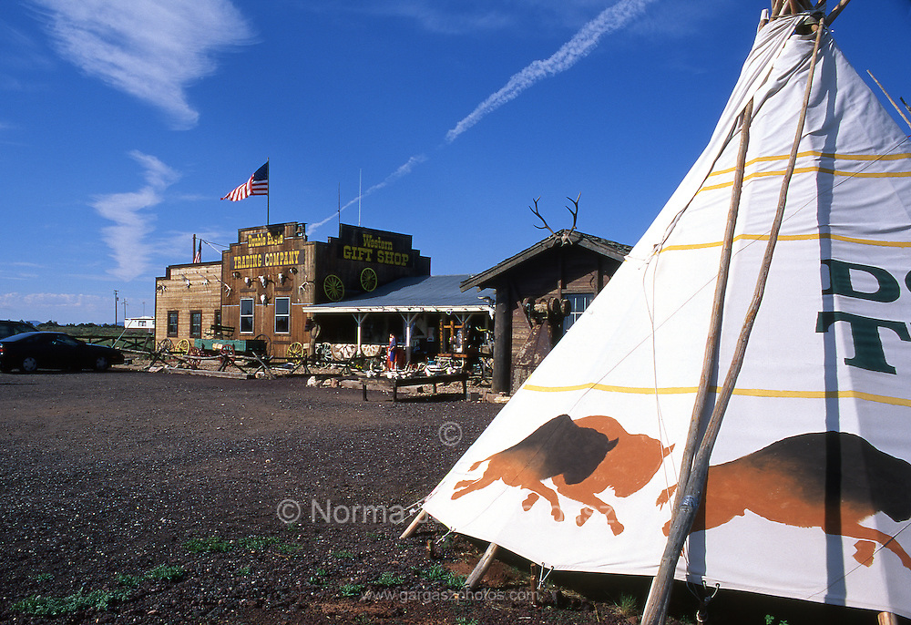 Tourist attraction, Valle, Arizona, south of the Grand Canyon, USA.