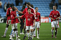 Photo: Rich Eaton.<br /> <br /> Coventry City v Bristol City. The FA Cup. 16/01/2007. Bristol celebrate their 2-0 away victory