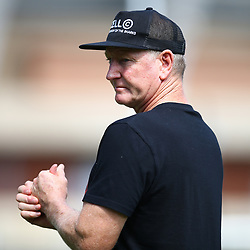 DURBAN, SOUTH AFRICA - APRIL 10: Dick Muir as an attack and backline consultant of the Cell C Sharks during the Cell C Sharks training session at Jonsson Kings Park on April 10, 2018 in Durban, South Africa. (Photo by Steve Haag/Gallo Images)
