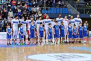 DESCRIZIONE : Campionato 2014/15 Victoria Libertas Consultinvest Pesaro - Dinamo Banco di Sardegna Sassari<br /> GIOCATORE : Team Pesaro<br /> CATEGORIA : Before Pregame<br /> SQUADRA : Victoria Libertas Consultinvest Pesaro<br /> EVENTO : LegaBasket Serie A Beko 2014/2015<br /> GARA : Victoria Libertas Consultinvest Pesaro - Dinamo Banco di Sardegna Sassari<br /> DATA : 09/03/2015<br /> SPORT : Pallacanestro <br /> AUTORE : Agenzia Ciamillo-Castoria/L.Canu<br /> Predefinita :