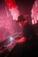 Dj Nori at a nightclub in Tokyo.
