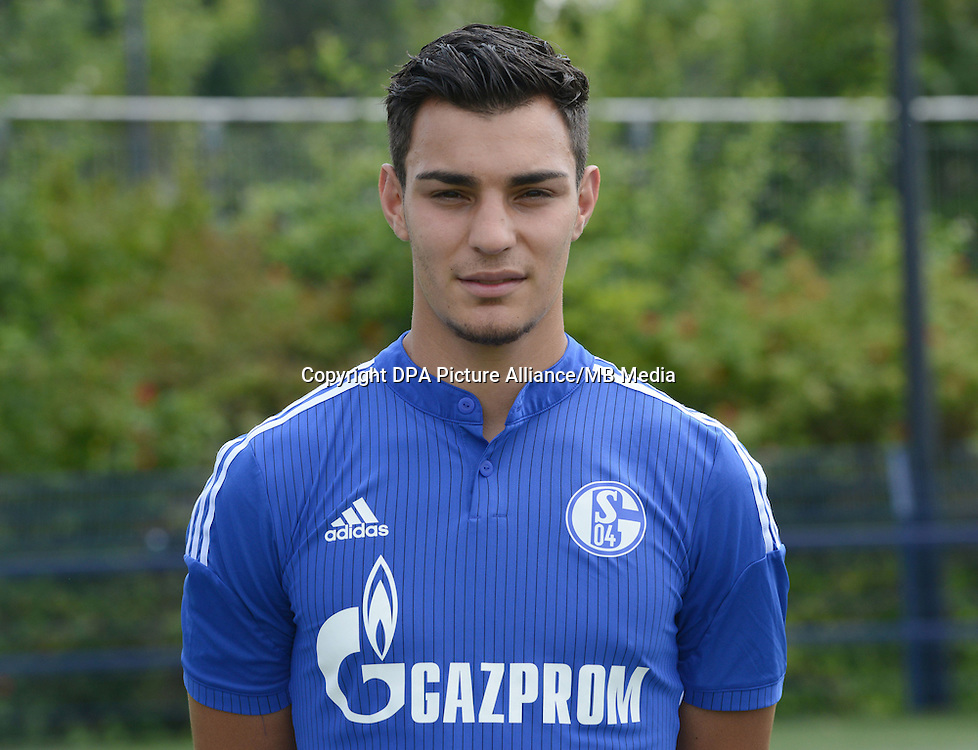 German Soccer Bundesliga - Photocall FC Schalke 04 on 17 July 2014 in Gelsenkirchen, Germany: Kaan Ayhan.