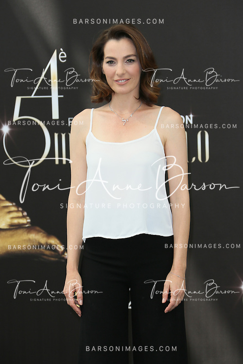"""MONTE-CARLO, MONACO - JUNE 11:  Ayelet Zurer attends """"Hostages"""" photocall at the Grimaldi Forum on June 11, 2014 in Monte-Carlo, Monaco.  (Photo by Tony Barson/FilmMagic)"""