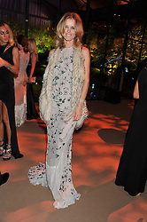EVA HERZIGOVA at the Raisa Gorbachev Foundation Gala held at the Stud House, Hampton Court, Surrey on 22nd September 22 2011