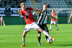 Luka Bobicanec of ND Mura during football match between ND Mura and ND Tabor Sezana in Round #28 of 2.SNL 2017/18 on May 13, 2018 in Mestni stadion Fazanerija , Murska Sobota , Slovenia. Photo by Mario Horvat / Sportida