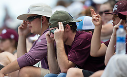 Auburn vs. Texas A&M in a NCAA softball game Saturday, April 28, 2018, in College Station, Texas.