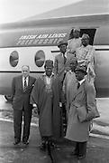 11/09/1961<br /> 09/11/1961 <br /> 11 September 1961<br /> Nigeria Airways Group visit Dublin, special for Aer Lingus.