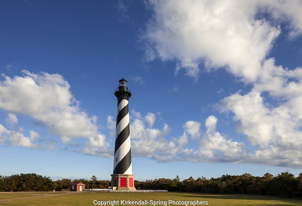 NC00808-00...NORTH CAROLINA - Cape Hatteras Lighthouse in the Cape Hatteras National Seashore near the town of Buxton.