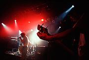 © Naki Kouyioumtzis/ PYMCA<br />Bass player of Capdown, Hardecore/Metal band @ Mean Fiddler, London