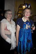 PHILLIPA AND GRAYSON PERRY, The Literary Review Bad sex in Fiction Award 2007. The In and Out Naval and Military Club. St. James's Sq. London. 27 November 2007. -DO NOT ARCHIVE-© Copyright Photograph by Dafydd Jones. 248 Clapham Rd. London SW9 0PZ. Tel 0207 820 0771. www.dafjones.com.
