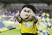 Brewers mascot Billy Brewer during the EFL Sky Bet League 1 match between Burton Albion and Coventry City at the Pirelli Stadium, Burton upon Trent, England on 14 September 2019.
