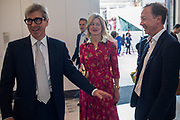 TIMOTHY TAYLOR; LADY HELEN TAYLOR; GEORDIE GREIG, V & A Summer Party. 2018. Exhibition Rd. South Kensington, London. 20 June 2018
