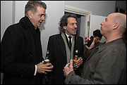 DAVID WEBSTER; STEPHEN WEBSTER; PAUL ROWE, Antony Micallef private at Lazarides Rathbone, 11 RATHBONE PLACE, London. 12 February 2015