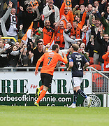 Dundee United's Nadir Çiftçi celebrates his second goal - Dundee United v Dundee at Tannadice Park in the SPFL Premiership<br /> <br />  - © David Young - www.davidyoungphoto.co.uk - email: davidyoungphoto@gmail.com