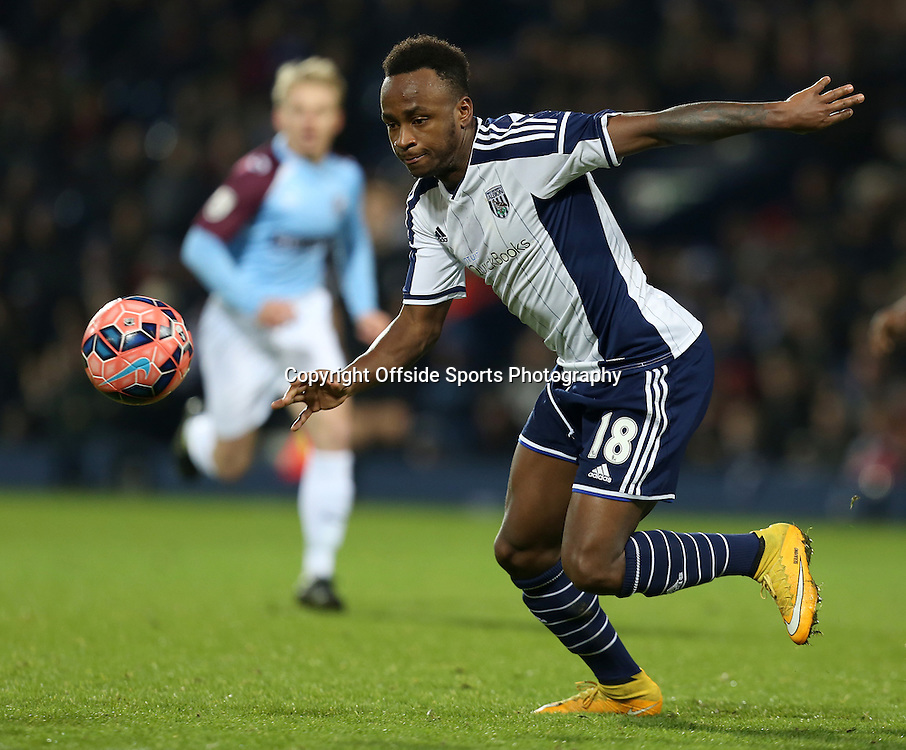 3rd January 2015 - FA Cup 3rd Round - West Bromwich Albion v Gateshead - Saido Berahino of West Bromwich Albion - Photo: Paul Roberts / Offside.