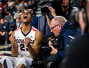 Gonzaga beat BYU 68-60 at home Feb. 3. Photo by Zack Berlat.