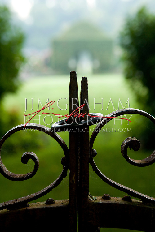 The gardens at the Big Bend Farm in Chadds Ford, Pa(Photography by Jim Graham)