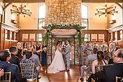 wedding ceremony by Tallmadge wedding photographer, Akron wedding photographer Mara Robinson Photography