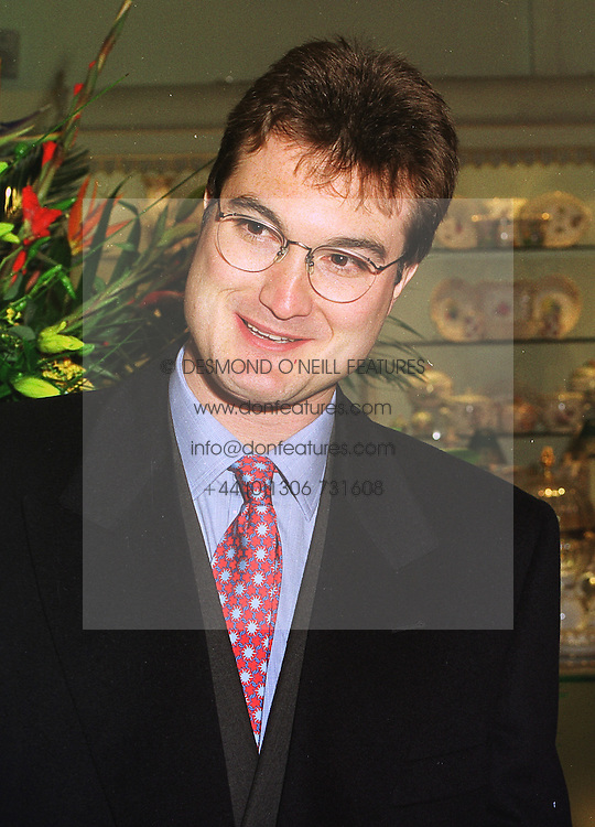 LORD ROBIN RUSSELL at a party in London on 13th October 1998.MKT 1